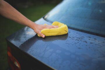 mycie lakieru